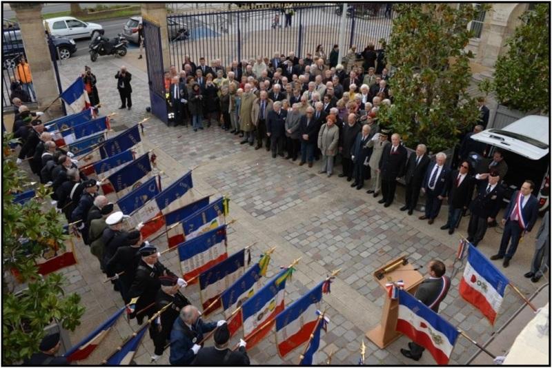 Cérémonie dans la Cour Saint Omer