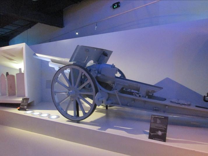 Un canon 105 long de Schneider